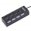 USB хъб USB 2.0 с 4 Порта,Черен /12053