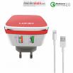 Мрежово Зарядно Устройство за iPhone 5/6/7,LDNIO A2405Q,Quick Charge