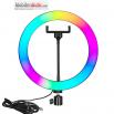 Селфи Ринг LED Лампа Модел M33/33см,RGB - 20W