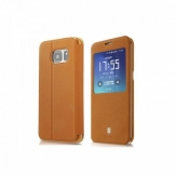 Калъф Baseus Terse Leather Samsung G930 Galaxy S7 Кафяв