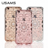 Калъф USAMS Grace за Apple iPhone 6/6S Бледо злато