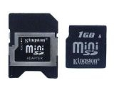 Карта памет Kingston 1 GB Mini SD Card