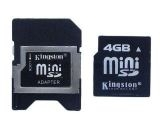 Карта памет Kingston 4 GB Mini SD Card